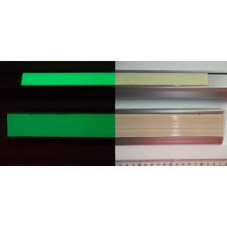 Rubberen fotoluminescente anti-slip band