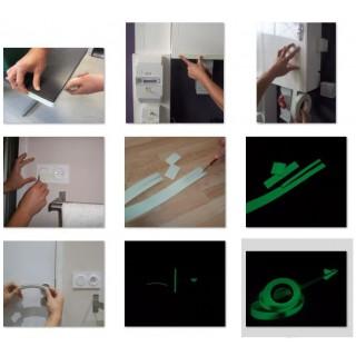 Fosforescente tape per meter