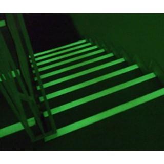 Klevende hoeken Fotoluminescente anti-slip adhesieve band Aluminium-Epoxy