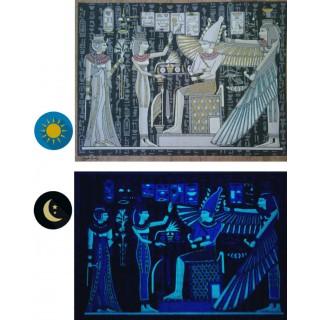 "Phosphorescente Papyrus ""Collectie Oude Egypte"" - 10 fresco's"